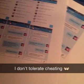 Woman's Revenge Christmas Gift to Cheating Boyfriend