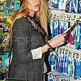 Blake Brushes Up as She Settles Back Into Her Manhattan Routine