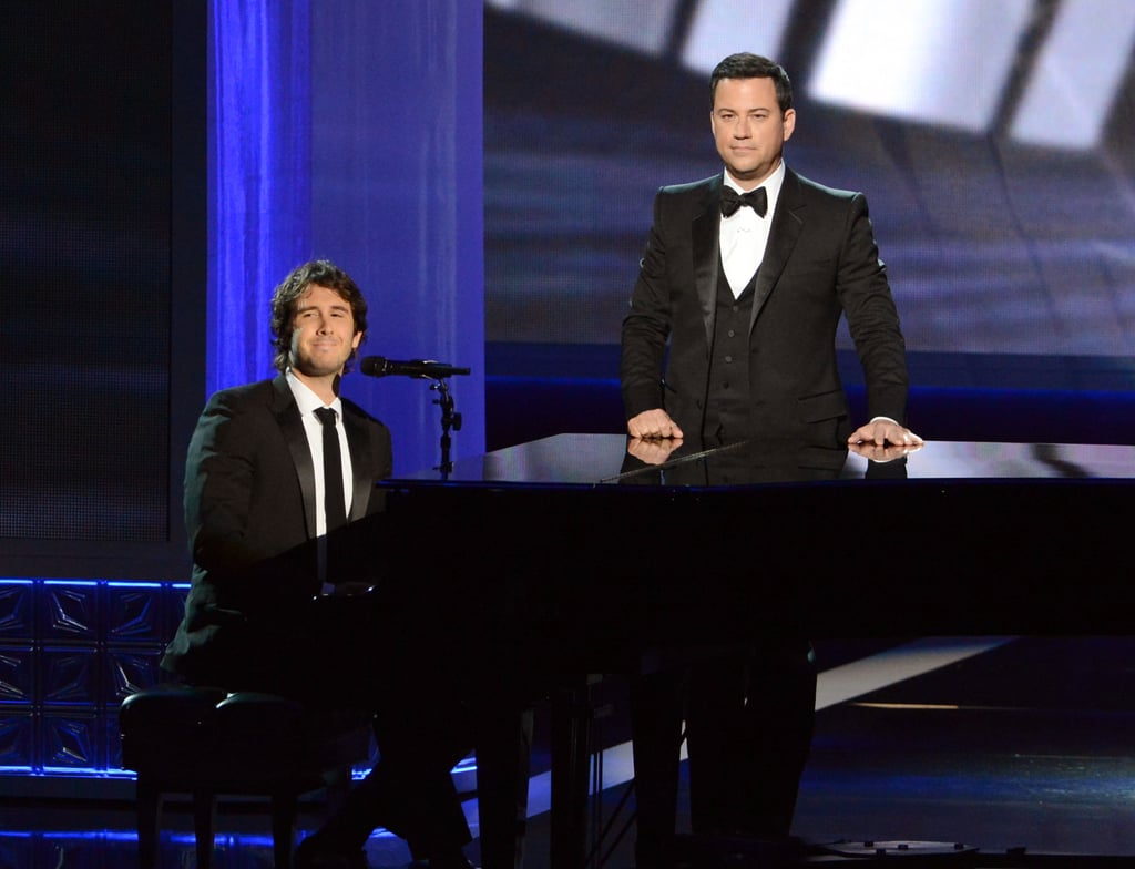 Josh Groban Pays Tribute to Jimmy Kimmel