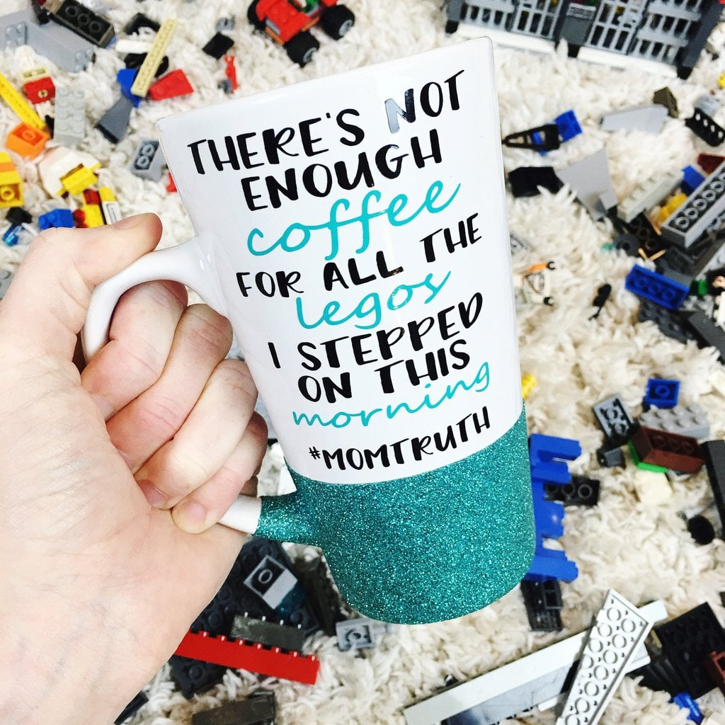 Not Enough Coffee For All The Legos Tall Mug