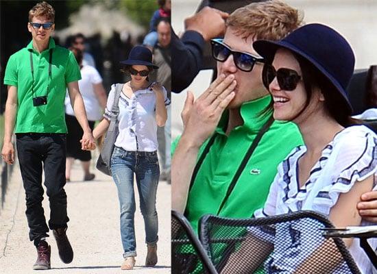 Photos Of Rachel Bilson and Hayden Christensen Out In Paris In The Sunshine