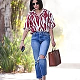 How to Wear Jeans: Lucy Hale