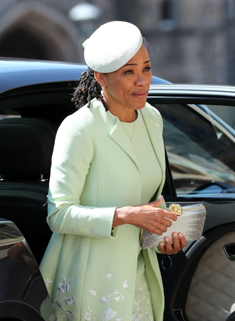 Meghan Markle's Mom's Dress at Royal Wedding 2018