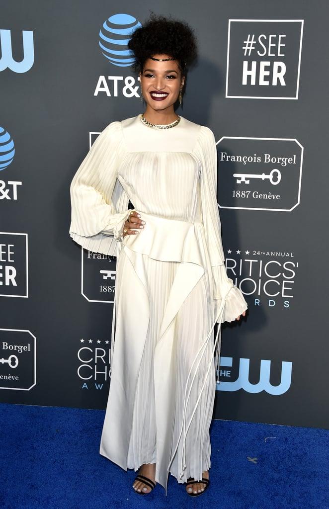 Indya Moore at the 2019 Critics' Choice Awards