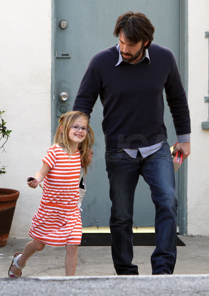 Ben Steps Out in LA With Violet While Baby Samuel Stays at Home
