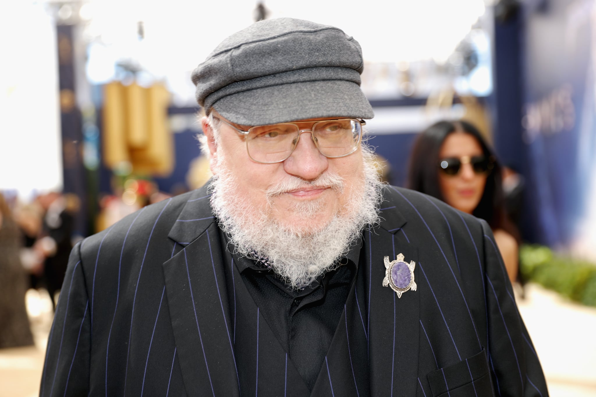 LOS ANGELES, CA - SEPTEMBER 17:  Writer George R. R. Martin attends the 70th Annual Primetime Emmy Awards at Microsoft Theatre on September 17, 2018 in Los Angeles, California.  (Photo by Rich Polk/Getty Images for IMDb)