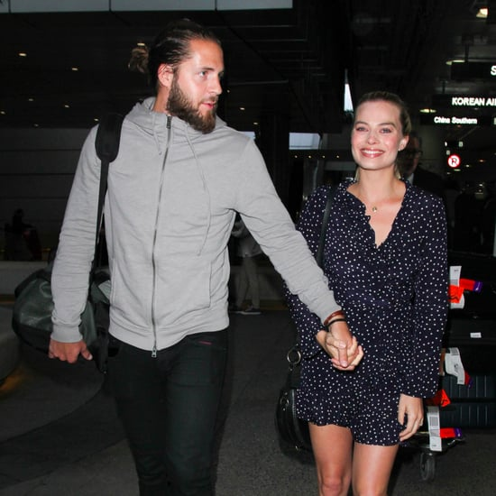 Margot Robbie and Tom Ackerley Out at LAX January 2017