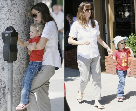 Photos of Jennifer Garner and Violet