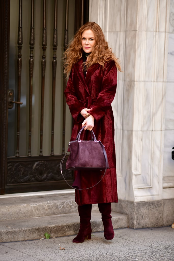 Grace's Furry Red Coat on The Undoing