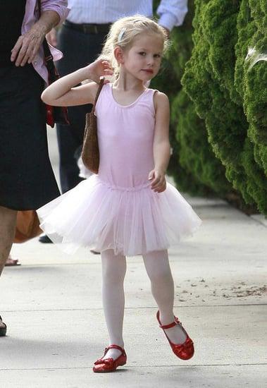 Jennifer Garner And Violet Heading To Ballet Class