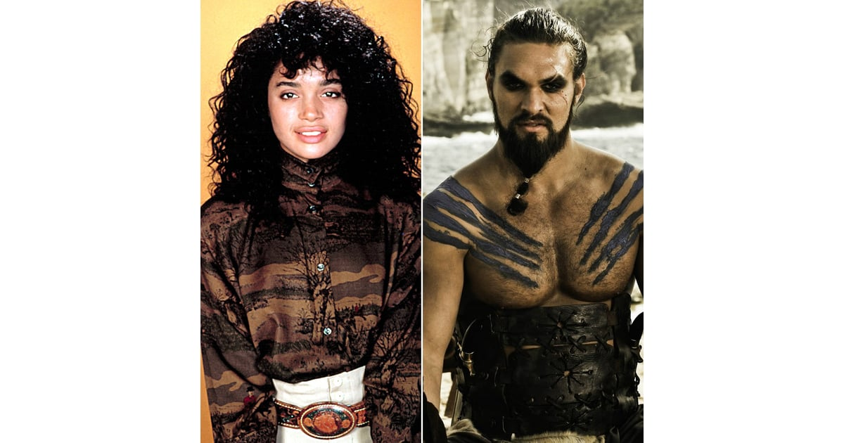 Denise Huxtable and Khal Drogo   TV Characters Who Are ...