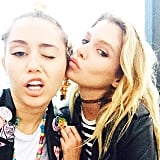 She's Also Friends With Miley Cyrus