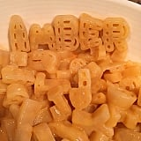 With Our Names Spelled Out of the Alphabet Kraft Dinner