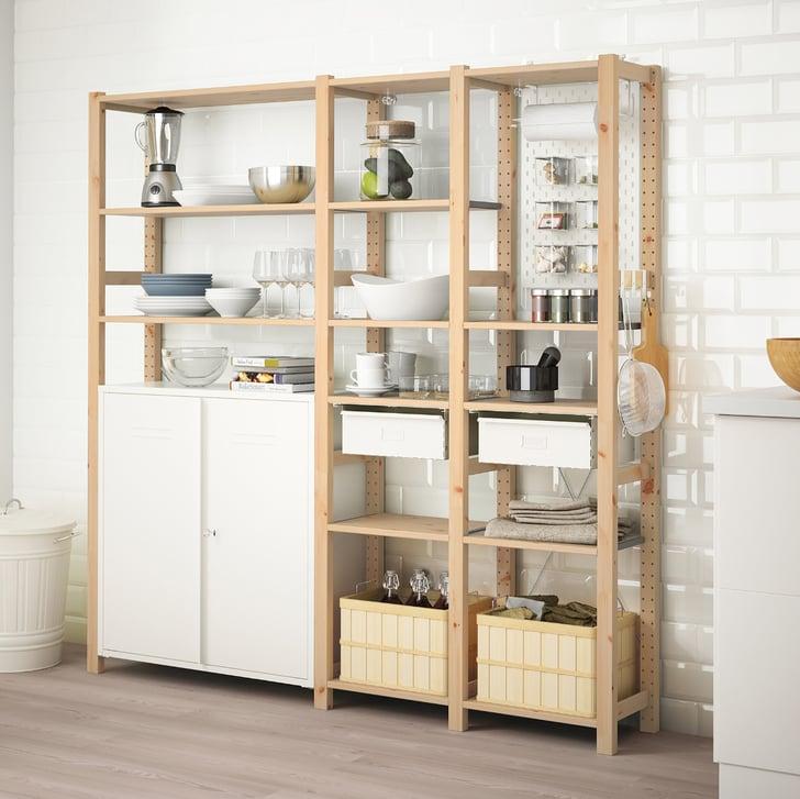 Ivar 3-Section Cabinet and Shelves   Best Ikea Living Room ...