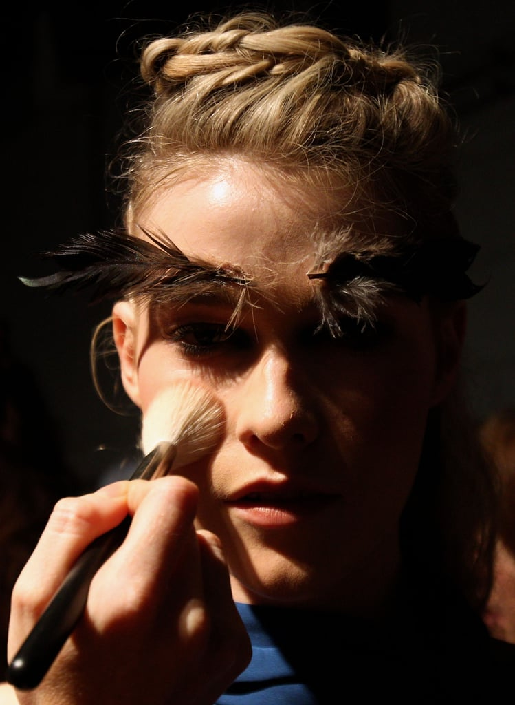 Photos of Makeup Backstage at Bianca Spender SS 2010-11 at RAFW 2010
