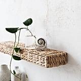 Hyacinth Woven Shelf
