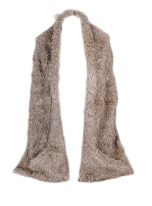 Faux-Fur Long Scarf ($15)