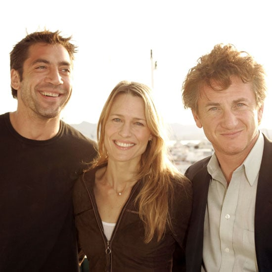 In 2004 Javier Bardem, Robin Wright-Penn and Sean Penn partied on a yacht together.