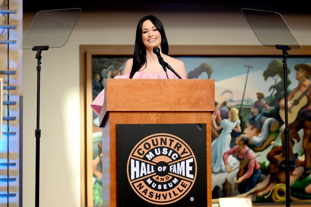 Kacey Musgraves Makeup at Country Music Hall of Fame Exhibit