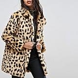 Asos Leopard Coat