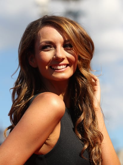 Pictures of Ricki-Lee Coulter's Hair and Makeup from the 2011 ARIA Awards