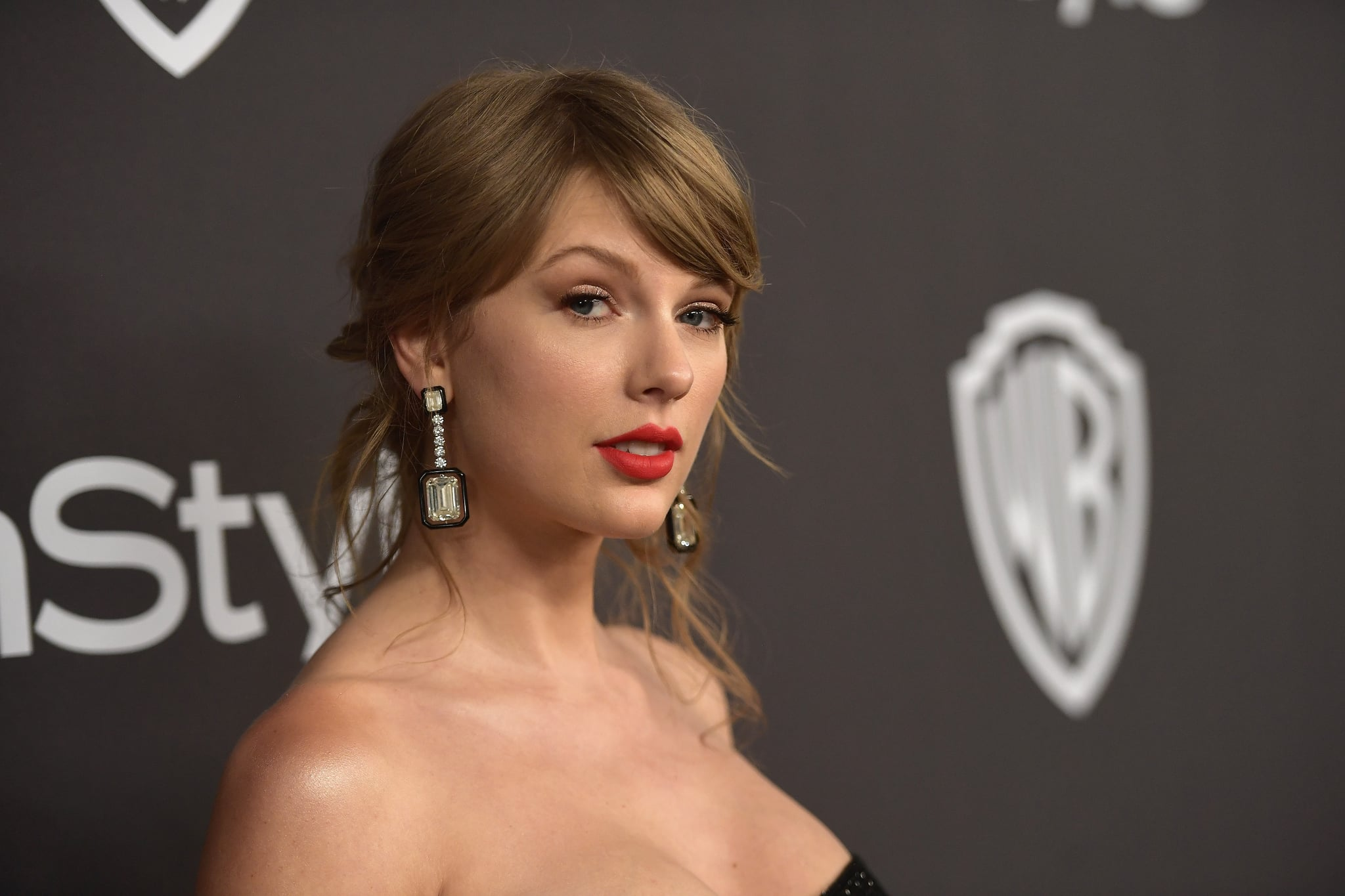 BEVERLY HILLS, CA - JANUARY 06: Taylor Swift attends the 2019 InStyle and Warner Bros. 76th Annual Golden Globe Awards Post-Party at The Beverly Hilton Hotel on January 6, 2019 in Beverly Hills, California.  (Photo by Matt Winkelmeyer/Getty Images for InStyle)