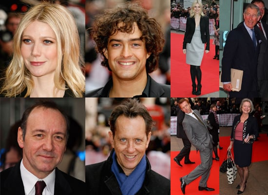 Gwyneth Paltrow and Kevin Spacey at 2008 Prince's Trust Celebrate Success Awards