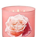 Bath and Body Works Rose Water and Ivy 3-Wick Candle
