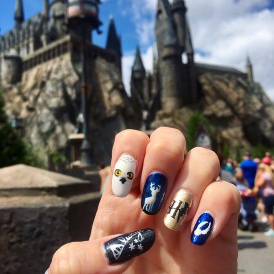 Harry Potter Nail Ideas