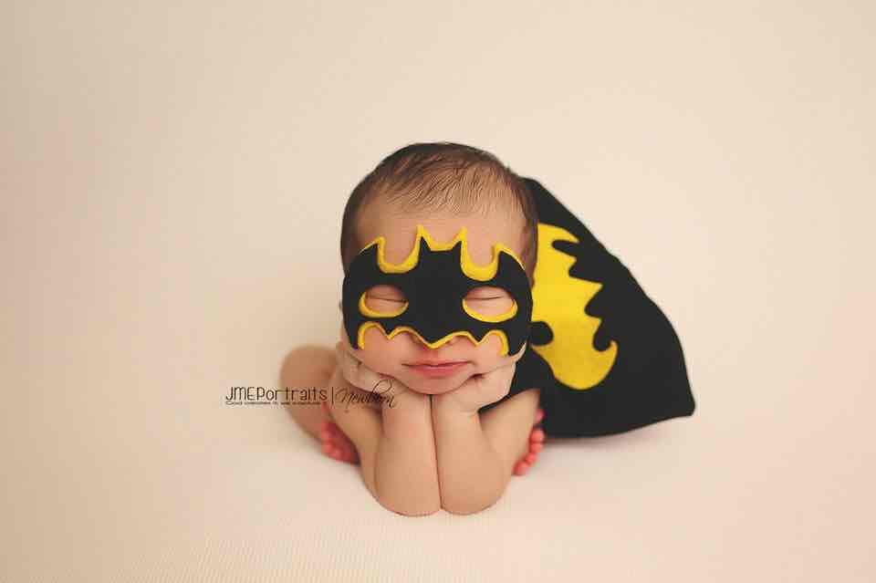 Gotham's tiniest hero is always ready to fight crime