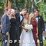 Lauren Burnham's Hayley Paige Wedding Gown