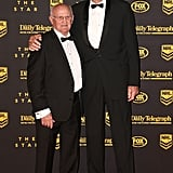 Norm Provan and Arthur Summons