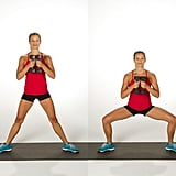 Weighted Sumo Squats
