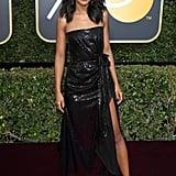 Kerry Washington Roger Vivier Shoes Golden Globes 2018