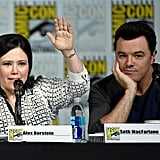 Alex Borstein and Seth MacFarlane Talk at Comic Con in 2015
