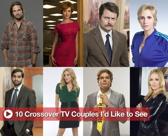Romantic Matches For TV Characters on Different Series