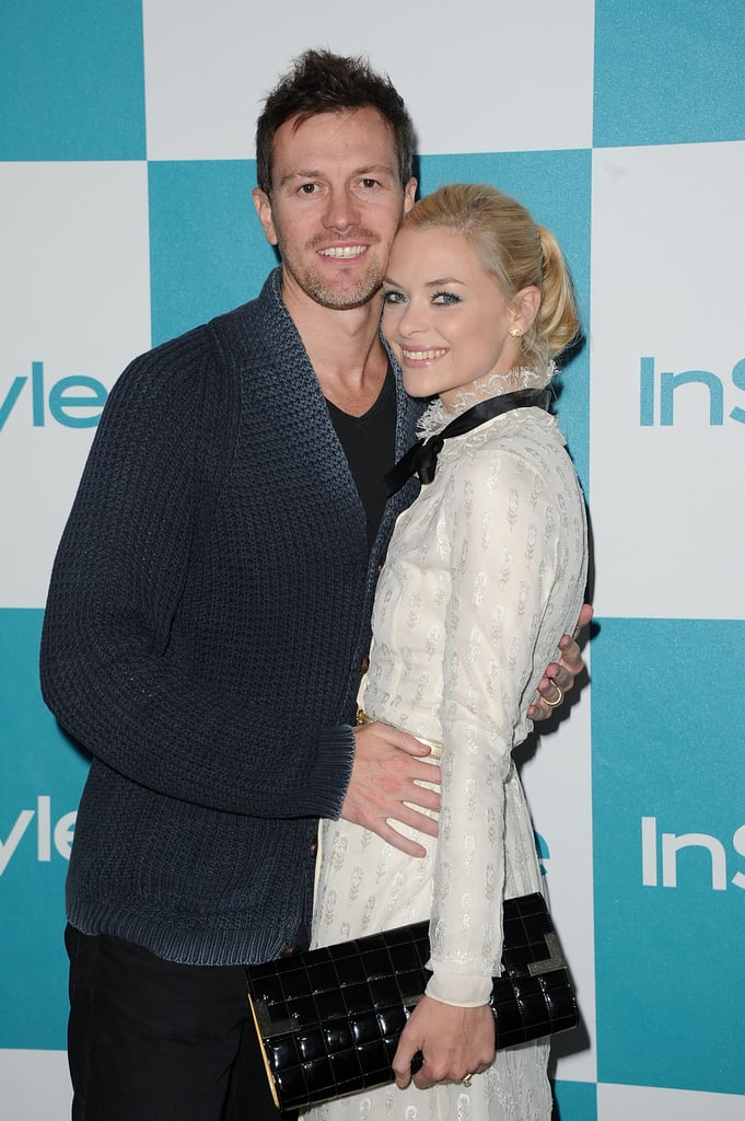 Jaime King and husband Kyle Newman.