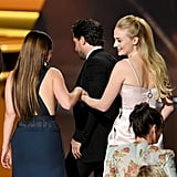Jennifer Lopez Reacts to Emilia Clarke's Emmys Tribute