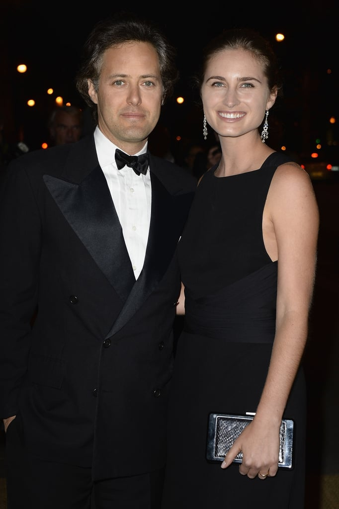 David Lauren and Lauren Bush Lauren dined with Ralph Lauren at the label's Paris soiree.