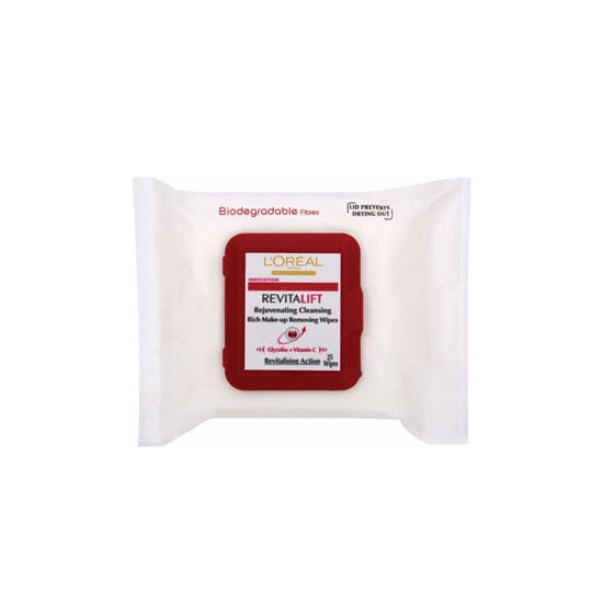 L'Oreal Paris Revitalift Cleansing Wipes, $7.95