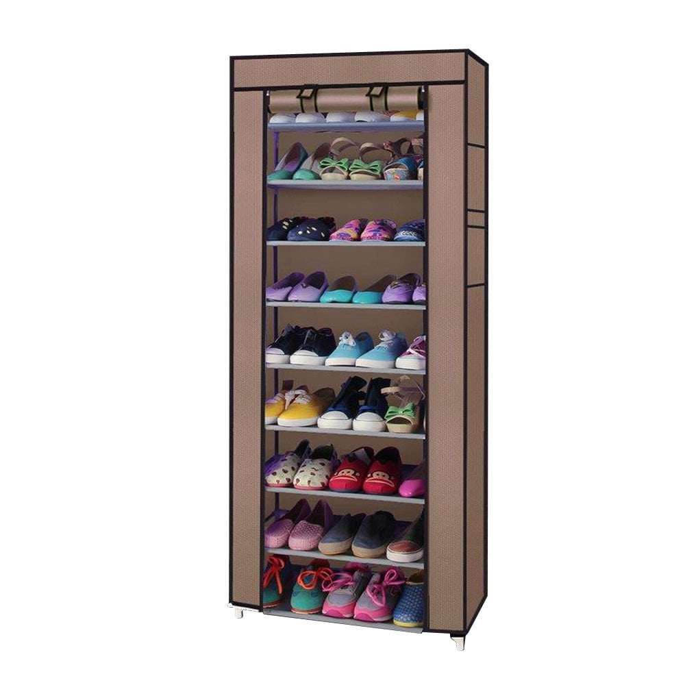 Zimtown 10 Tier Shoe Closet Organizer