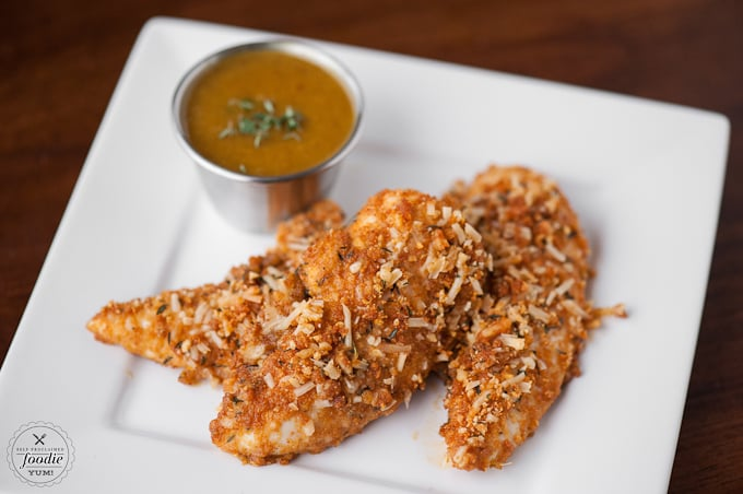Cheerio-Coated Oven-Fried Chicken Tenders