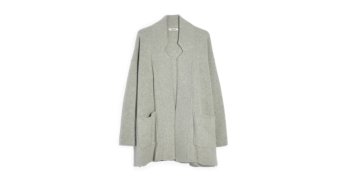 Madewell Spencer Sweater Coat What To Shop Sept 4 2018