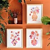 Jungalow Fleurs Art Print by Justina Blakeney