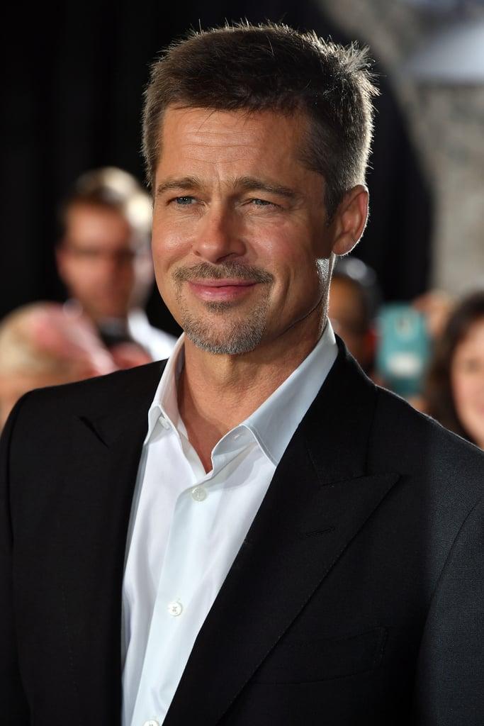 Brad Pitt at Allied LA...