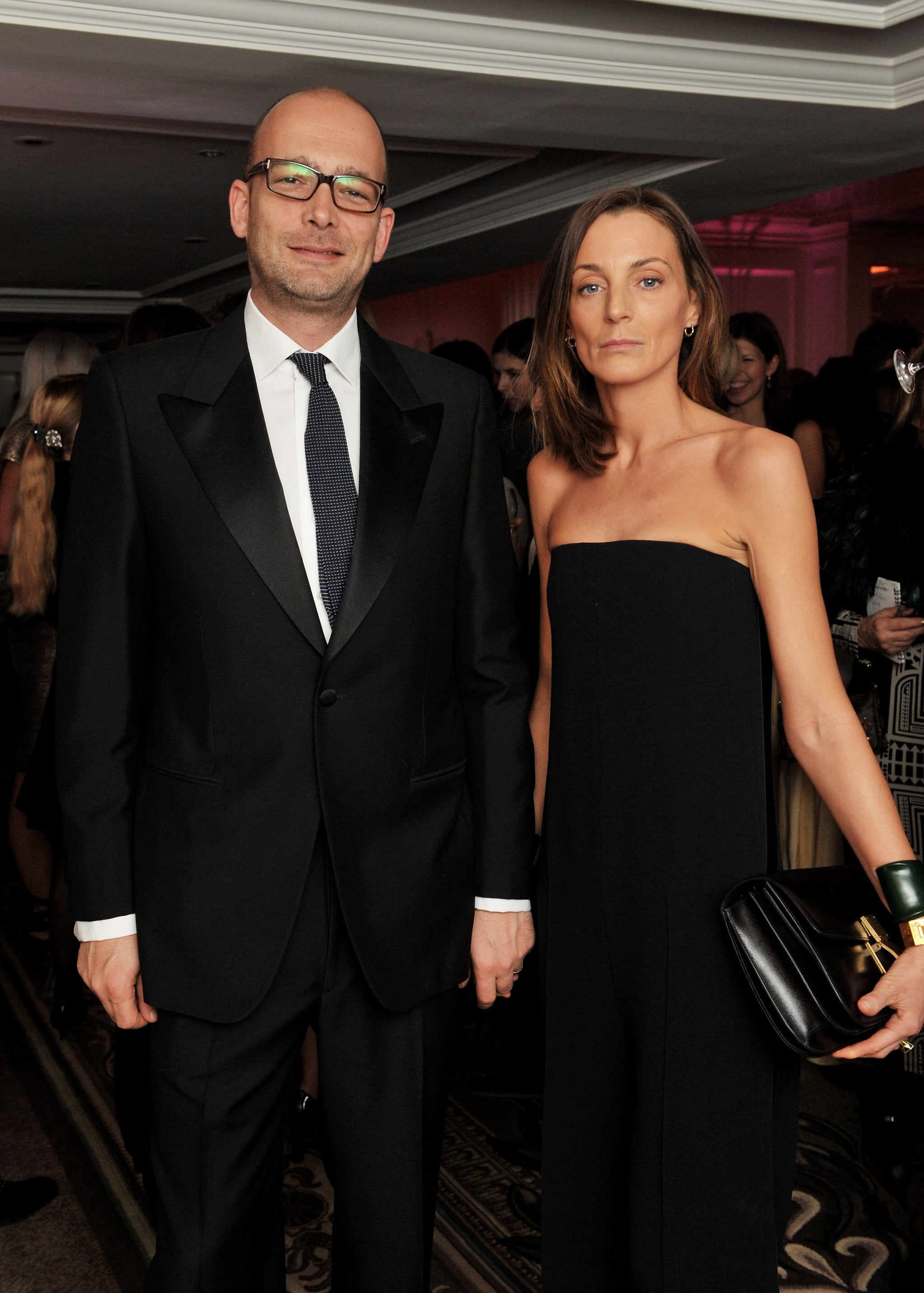 Phoebe Philo with friendly, fun, Husband Max Wigram