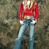 And as Hannah Montana.