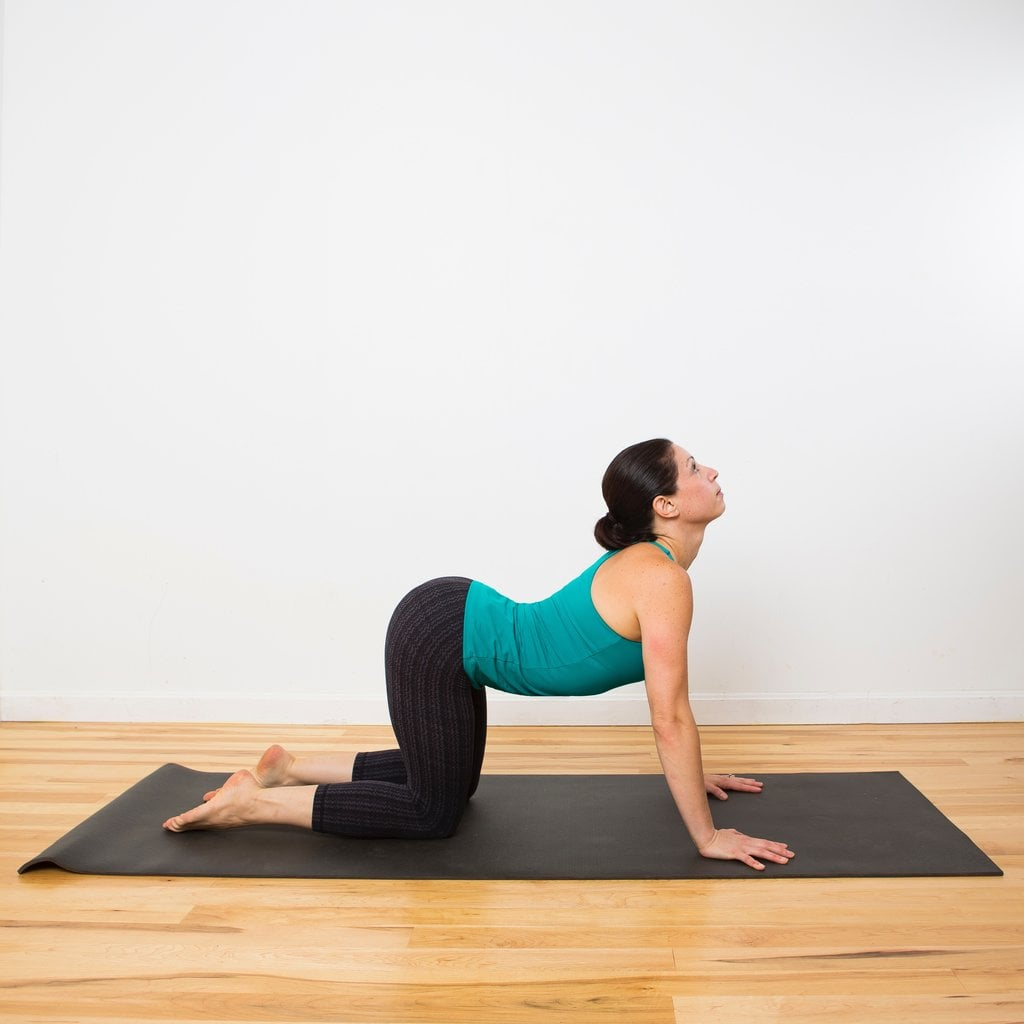 Relaxing Beginner Yoga Sequence Squeeze In One Of These Quick Morning Workouts Before Your Busy Day Begins Popsugar Fitness Photo 7