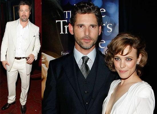Photos From New York Premiere of The Time Traveler's Wife Starring Brad Pitt, Eric Bana and Rachel McAdams