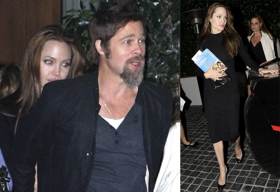 Photos of Brad and Angelina